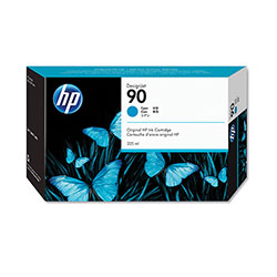 HP 90 Cyan Ink Cartridge ,Model C5060A ,Page Yield 130 ml