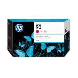 HP 90 Magenta Ink Cartridge ,Model C5062A ,Page Yield 225 ml