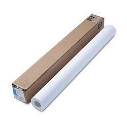 "HP Designjet Heavyweight Coated Ink Jet Paper, 35 lb., 36"" x 100' Roll"