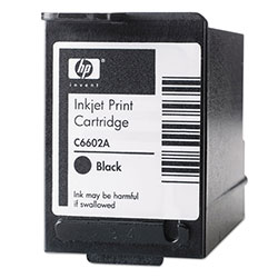 HP C6602A Black Ink Cartridge ,Model C6602A ,Page Yield 1300