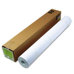 "HP Designjet Coated Ink Jet Paper, 26 lb., 36"" x 300' Roll"