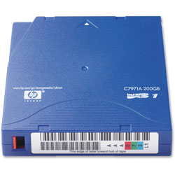 HP LTO I Tape Cartridge, Up to 200GB