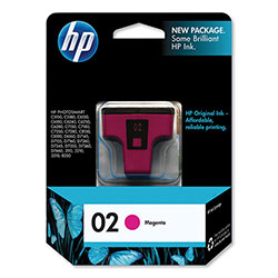 HP 2 Magenta Ink Cartridge ,Model C8772WN ,Page Yield 370