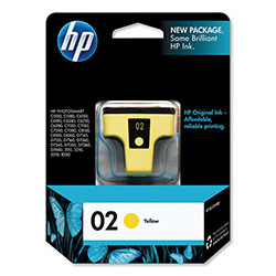 HP 2 Yellow Ink Cartridge ,Model C8773WN ,Page Yield 500