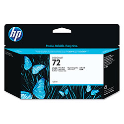 HP 72 Black Ink Cartridge ,Model C9370A ,Page Yield 1000