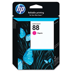 HP 88 Magenta Ink Cartridge ,Model C9387AN ,Page Yield 1000