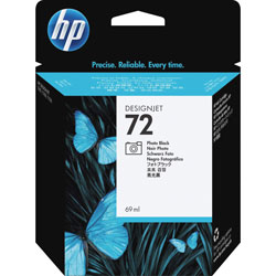 HP 72 Black Ink Cartridge ,Model C9397A ,Page Yield 1300