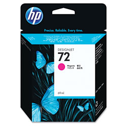 HP 72 Magenta Ink Cartridge ,Model C9399A ,Page Yield 722