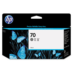 HP 70 Gray Ink Cartridge ,Model C9450A ,Page Yield 4400
