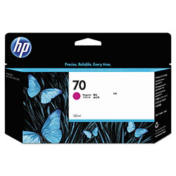 HP 70 Magenta Ink Cartridge ,Model C9453A ,Page Yield 24000