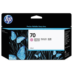 HP 70 Magenta Ink Cartridge ,Model C9455A ,Page Yield 3300