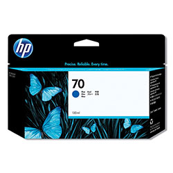 HP 70 Blue Ink Cartridge ,Model C9458A ,Page Yield 1650