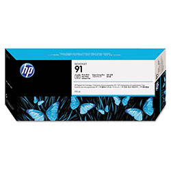 HP 91 Black Ink Cartridge ,Model C9465A ,Page Yield 220