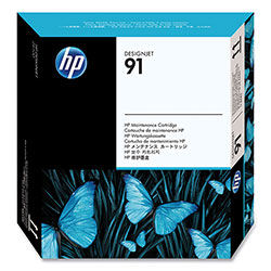 HP 91 Maintenance Catridge for Designjet Z6100 Printers ,Model C9518A ,Page Yield 130