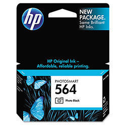 HP 564 Photo Ink Cartridge ,Model CB317WN ,Page Yield 130