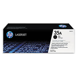 HP 35 Black Toner Cartridge ,Model CB435A ,Page Yield 1700