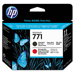 HP 771 Black Ink Cartridge ,Model CE017A ,Page Yield 220