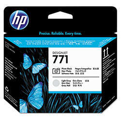 HP 771 Black Ink Cartridge ,Model CE020A ,Page Yield 750