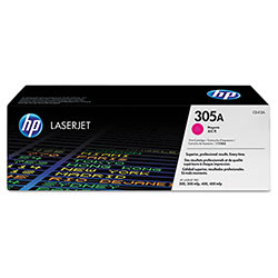 HP CE413AG (HP 305A) Government Toner, 2,600 Page-Yield, Magenta