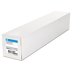 "HP Everyday Matte Polypropylene Roll Film, 120 g/m2, 2"" Core, 42"" x 100 ft, White"