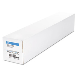 "HP Everyday Matte Polypropylene Roll Film, 120 g/m2, 2"" Core, 50"" x 100 ft, White"