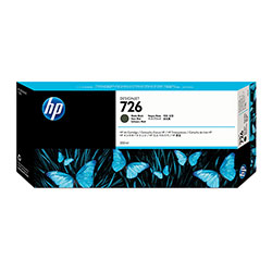HP 726 Black Ink Cartridge ,Model CH575A ,Page Yield 901