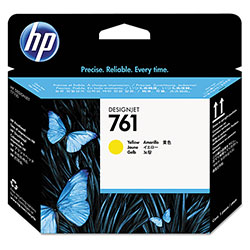 HP 761 Yellow Ink Cartridge ,Model CH645A ,Page Yield 200 Black/360 Color