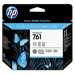 HP 761 Gray Ink Cartridge ,Model CH647A ,Page Yield 600