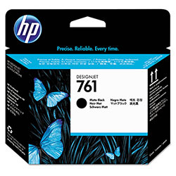 HP 761 Black Ink Cartridge ,Model CH648A ,Page Yield 750