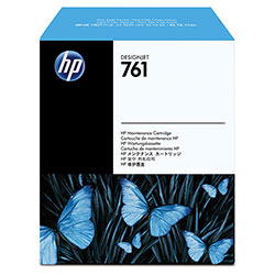 HP 761 Black Ink Cartridge ,Model CH649A ,Page Yield 11000