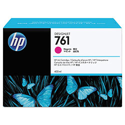 HP 761 Magenta Ink Cartridge ,Model CM993A ,Page Yield 10000