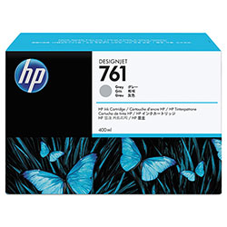 HP 761 Gray Ink Cartridge ,Model CM995A ,Page Yield 330