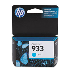 HP Ink Cartridge, 825 Page Yield, Cyan