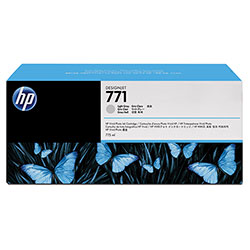 HP 771 Gray Ink Cartridge ,Model CR257A ,Page Yield 6000