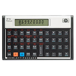 HP F2231AA 12C Financial Calculator, 10-Digit LCD