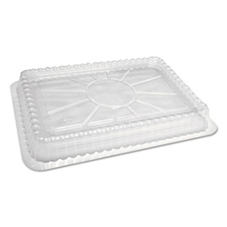 Handi-Foil Lid Pls Dome Clear Fits 2061/2062 500/cs