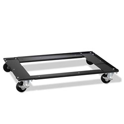 "Hirsh Commercial Cabinet Dolly, 5-1/2""x27""x5-1/2"", Black"