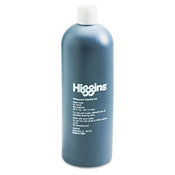Higgins® Waterproof India Ink for Art/Technical Pens, Black, 32 oz Bottle