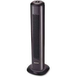 Holmes Oscillating Tower Fan, Three-Speed, Black