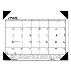 House Of Doolittle Recycled Workstation-Size One-Color Monthly Desk Pad Calendar, 18 1/2 x 13, 2017