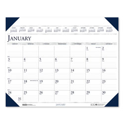 House Of Doolittle Executive Monthly Desk Pad Calendar, 24 x 19, 2018