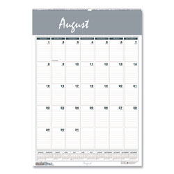 House Of Doolittle Recycled Bar Harbor Wirebound Academic Monthly Wall Calendar, 15.5x22, 2016-2017