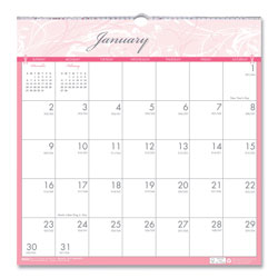 House Of Doolittle Recycled Breast Cancer Awareness Monthly Wall Calendar, 12 x 12, 2018
