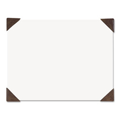 House Of Doolittle 100% Recycled Doodle Desk Pad, Unruled, 25 Sheets, 18 1/2 x 13, White/Brown