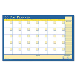 House Of Doolittle Reversible Laminated Organizer, 30/60 Day, 36 x 24