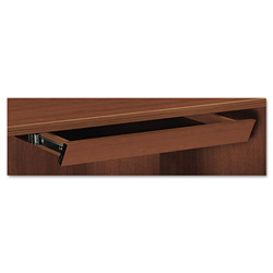 Hon Laminate Angled Center Drawer, 26w x 15-3/8d x 2-1/2h, Shaker Cherry