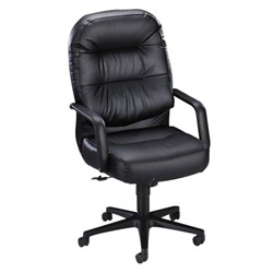 "Hon Pillow-Soft 2090 Series High Back Executive Chair, 26-1/4"" x 29-3/4x46-1/2"" Charcoal"