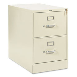 "Hon 210 Series 28 1/2"" Deep Full Suspension File, Two Drawer, Legal, Putty"