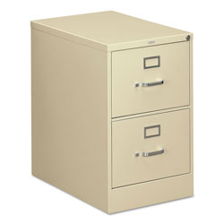 Hon 310 Series Two-Drawer, Full-Suspension File, Legal, 26-1/2d, Putty