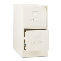 Hon 310 Series Two-Drawer, Full-Suspension File, Letter, 26-1/2d, Putty